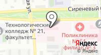 Противотуберкулезный диспансер №17 на карте