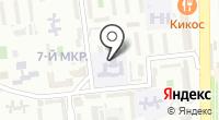 Средняя общеобразовательная школа №33 на карте