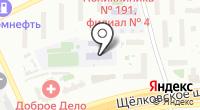 Средняя общеобразовательная школа №917 на карте