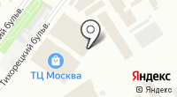 Магазин светотехники и карнизов на Тихорецком бульваре на карте