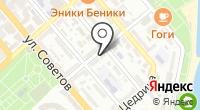 Военная комендатура Новороссийского гарнизона на карте