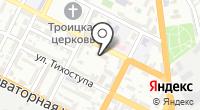 Отдел полиции по обслуживанию Восточного района в г. Новороссийске на карте