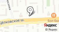 Щелкунчик на карте