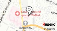 Городская ветеринарная лечебница на карте