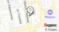 Табун на карте