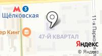 Средняя общеобразовательная школа №347 на карте