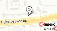 Гольяново на карте