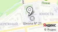 Средняя общеобразовательная школа №21 на карте