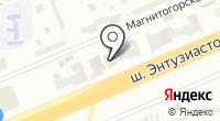 Амелия на карте