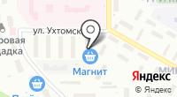 Мастерская по ремонту обуви на Ухтомского на карте
