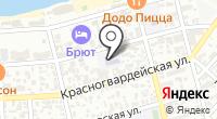 Институт искусств на карте