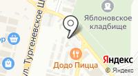 Сармат-Юг на карте
