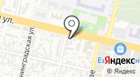 Магазин отделочных материалов на карте