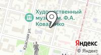 Краснодарский краевой суд на карте