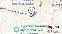 Магазин детской одежды на карте
