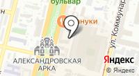 Регистратор КРЦ на карте
