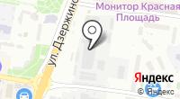 Эгида на карте
