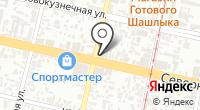Слибер на карте
