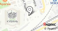Управление по надзору в области долевого строительства Краснодарского края на карте