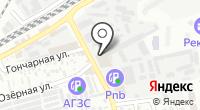 Юг-Проект на карте