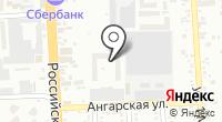 Екатеринодар-строй на карте