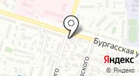 Тегас на карте
