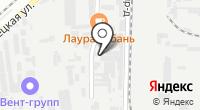 ТСА на карте