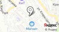 Красный Лев на карте