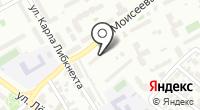 Стоматология на Моиссеева на карте