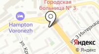Петек на карте