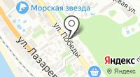 Городская поликлиника №1 на карте