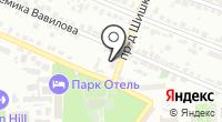Шарсон на карте