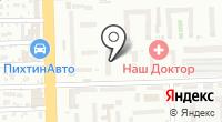 Терьер на карте