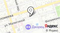Симуран на карте