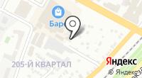 Мега-М на карте