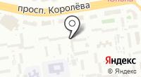 Донтара на карте