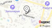 Сочинское курортное объединение на карте