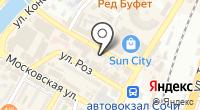 Notebook city на карте