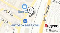 Черноморский на карте