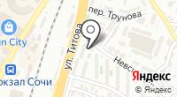 СФЮК на карте