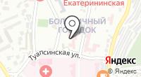 Городская больница №9 на карте