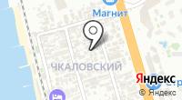 Альбик на карте