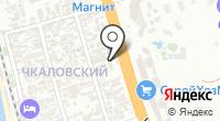 Янаис на карте