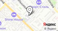 Арутюнов на карте