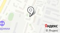 Аделайн на карте
