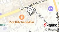 Бизнес система на карте