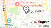 Магазин сувениров на Демидова на карте