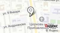 Десница на карте