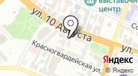 Нотариус Кузьмин Д.Ю. на карте