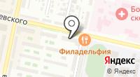 Славный на карте